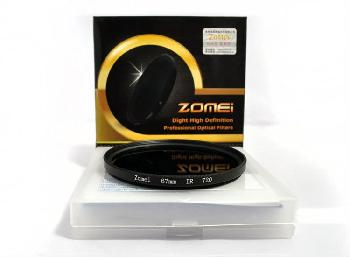 SLR camera filters 52mm 950nm Infrared filter ZOMEI brand